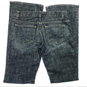Bebe Jeans, Blue Denim, Size 29